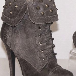 New Fergie Studded Battlefield Boots